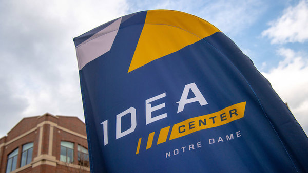 The IDEA Center is located in Innovation Park on Notre Dame's campus.