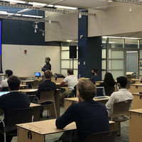 The IDEA Center's Student Entrepreneur Pre-Accelerator meets weekly in Innovation Park